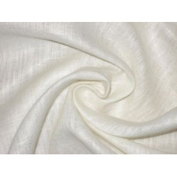 Linen fabric~Ivory colour~44