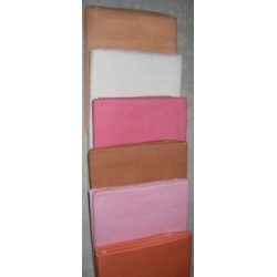 Peach,Pure White,Candy Pink,Chocolate Brown,Baby Pink & mandrin Orange colours 100%cotton Organdy Fabric~44