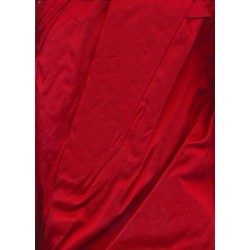 """Blood red Silk Dupioni  fabric 54"""" wide dup66"""