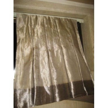 Inverted Box Pleat Curtains