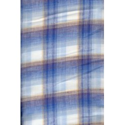 "100% linen plaid fabric 58"" wide # 100F24"
