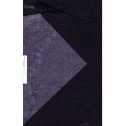 Exlusive silks~navy blue  silk organza 110