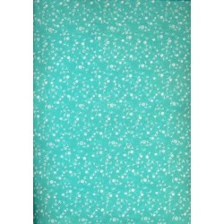 Cotton organdy printed ~small flowers