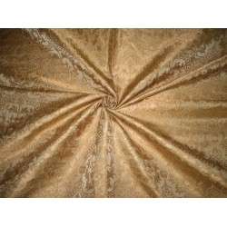 Silk Brocade Vestment Fabric Antique Gold color