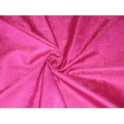 Silk Brocade fabric Pink