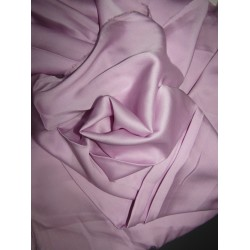 """100% Silk LYCRA Satin fabric 115 gms[31MOMME] 54""""WIDE - LILAC"""