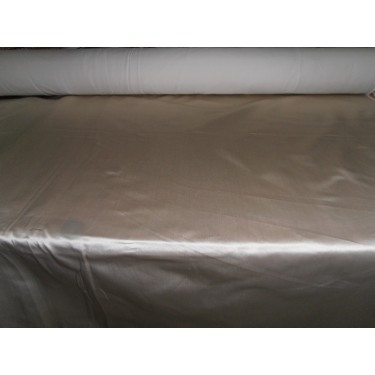 """53 momme sand beige  Polyester Duchess Satin - Majestic 54"""" wide"""