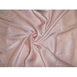 """33 momme silk  reversible satin charmeuse fabric  peach 44"""" wide"""