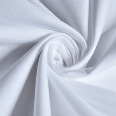 Plain White Micro Sheeting Fabrics 234 Cms Inches Wide 92 Inch