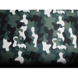 "camouflage  print Scuba Knit fabric 59"" wide- for fashion wear"