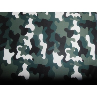 """camouflage  print Scuba Knit fabric 59"""" wide- for fashion wear"""