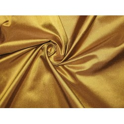 Pure SILK TAFFETA FABRIC Bronze with Brown Shot color