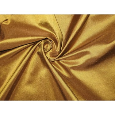 """Pure SILK TAFFETA FABRIC Bronze with Brown Shot color  54"""" wide sold by the yard"""