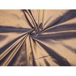 "100% Pure SILK TAFFETA FABRIC Gold with Ink Blue Shot TAF81  54"" wide sold by the yard"