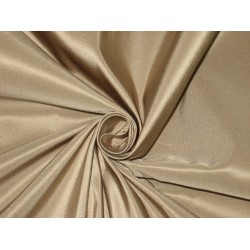 "Pure Silk Taffeta fabric~ 60""~Cafe Creme TAF182[1] 60"" wide sold by the yard"