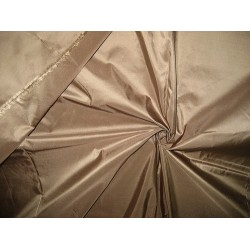 "100% Pure SILK TAFFETA FABRIC Dark Taupe.TAF64[3] 54"" wide sold by the yard"