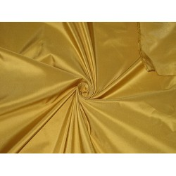 "100% Pure SILK TAFFETA FABRIC Mustard Gold color TAF54[3]/TAF163 54""wide  sold by the yard"