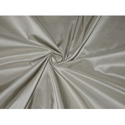 "100% Pure SILK TAFFETA FABRIC Light Silver 54""wide  sold by the yard"