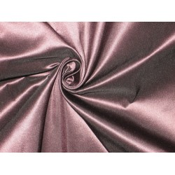 "Pure SILK TAFFETA FABRIC Aubergine Brown with pink shot TAF95 60"" wide sold by the yard"