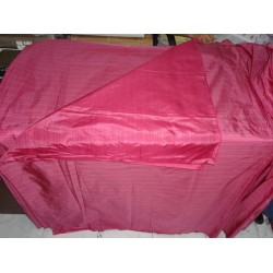 """Silk Taffeta Fabric pink  multi colour stripes-54"""" wide sold by the yard"""