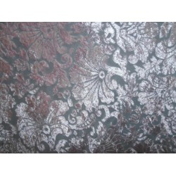 devore  burnout pink  Velvet fabric