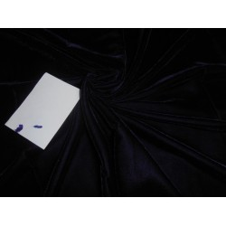 "navy dark blue Micro Velvet Fabric 44"" wide  sold by the yard"