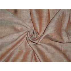 """Two Tone Rusty x Mint Color Linen Fabric 54"""""""