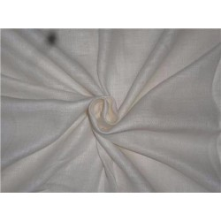 """Heavy Linen Ivory Color Fabric 58"""" Cut Length of 2.25 yards"""