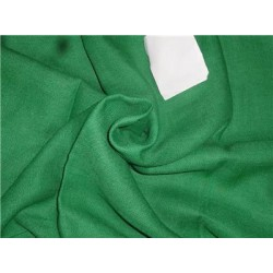 """Heavy Linen Green Color Fabric 58"""" Cut Length of 2.50 yards"""
