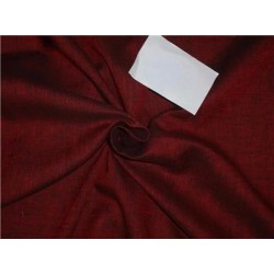 """Two Tone Linen 25% COTTON, 75% LINEN Red x Black Color 58""""inches"""